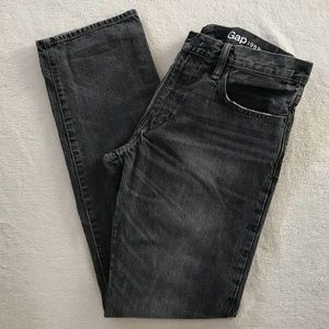 GAP Gray Straight Leg Jeans
